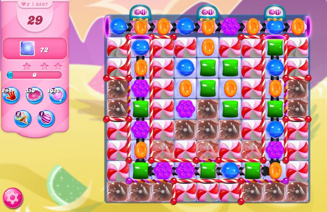 Candy Crush Saga level 8597