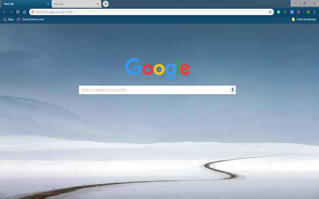 Continental Winter Google Theme