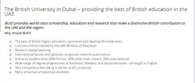 لماذا تختار الجامعة البريطانية في دبي- بريمو هندسة