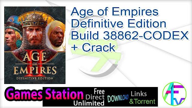 Age of Empires Definitive Edition Build 38862-CODEX + Crack