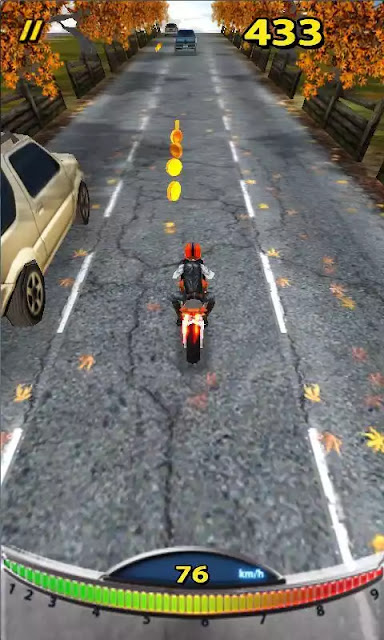 Speed Moto Android Game Under 10 mb