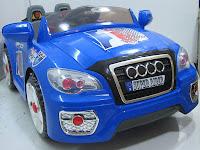 3 Mobil Mainan Aki Junior TR1101A Audi 2 Dinamo Motor