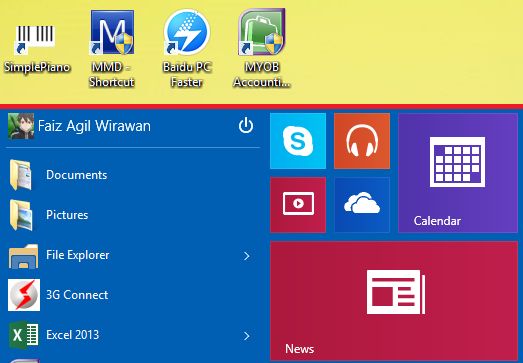 cara mengubah ukuran start menu windows 10