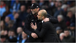Guardiola has congratulated Klopp on his achievement after winning EPL title