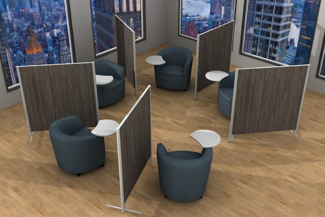 room dividers for reception area