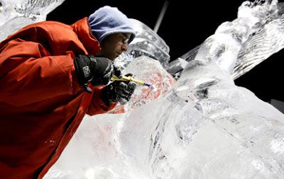a Zwolle il Festival del ghiaccio
