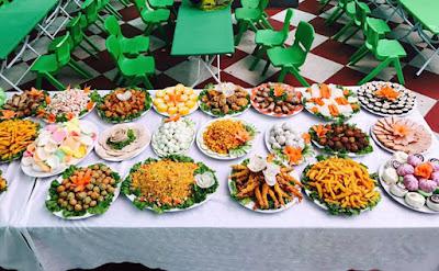 Đặt tiệc buffet trẻ em Tết Trung Thu 2020