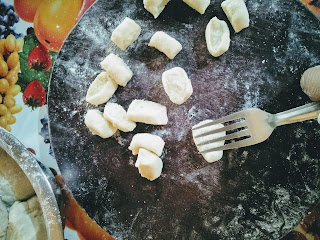 How To Make potato Gnocchi (Gnocchi De Patate)  At Home