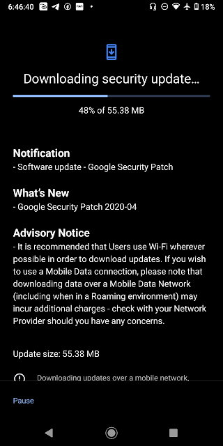 Nokia 7 Plus receiving April 2020 Android Security patch