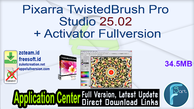 Pixarra TwistedBrush Pro Studio 25.02 + Activator Fullversion