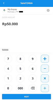 Cara transfer dana ke gopay 5