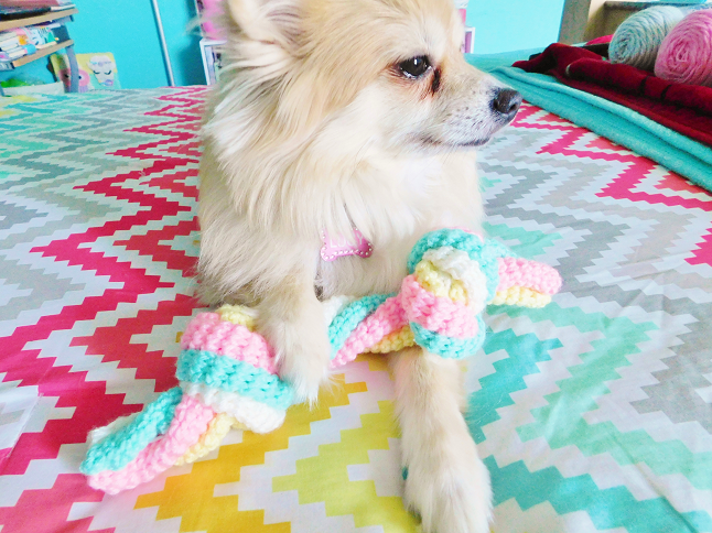Dog Rope Toy Crochet Pattern