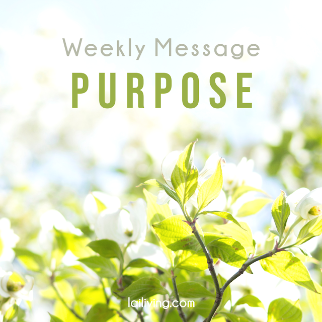 weekly message purpose