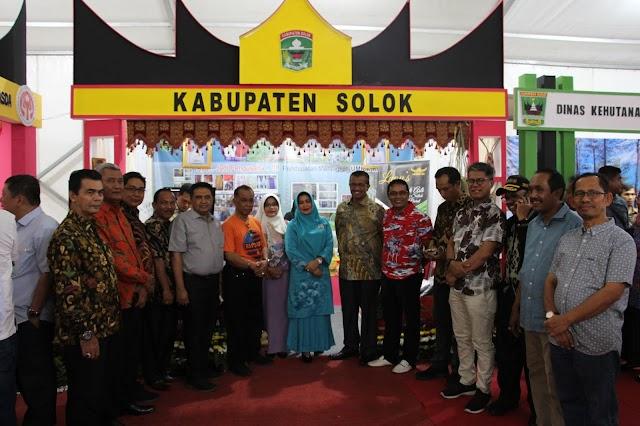 Kabupaten Solok Tampil di Sumbar Expo 2019