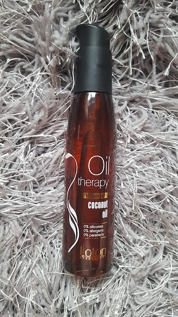 Loton Oil therapy coconut oil -weganśki olejek do ciała i włosów+analiza składu