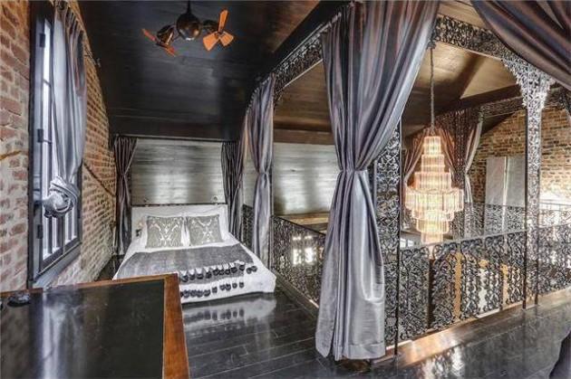a casa incrivel de Lenny Kravitz 13 - As aparências enganam. Esta casa impressiona pelo seu interior.