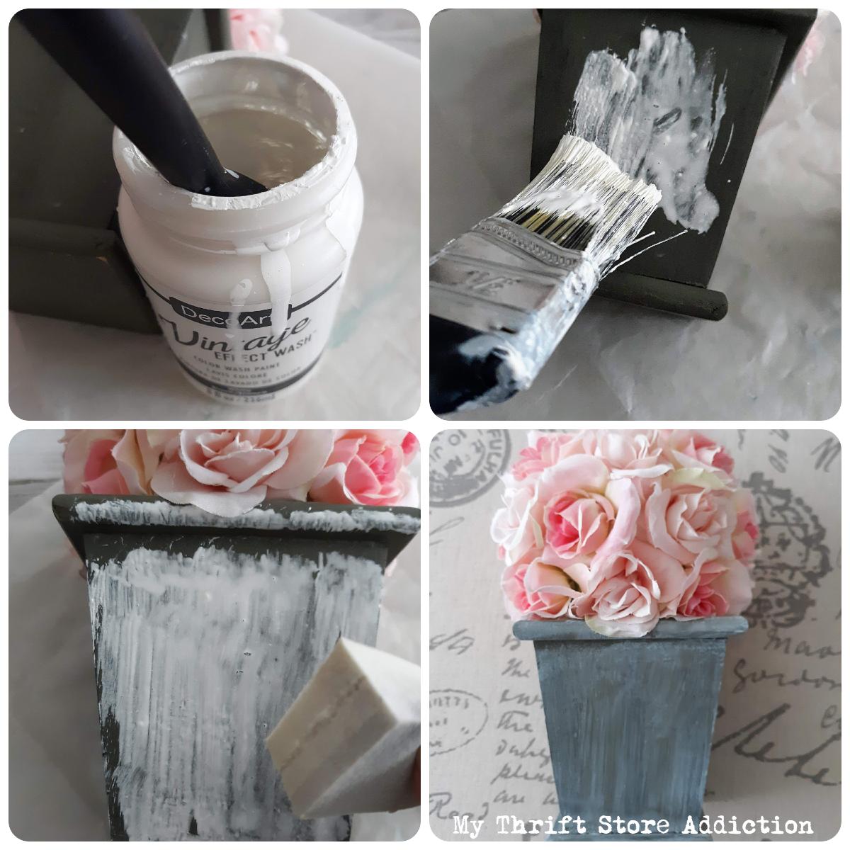 DIY whitewash technique