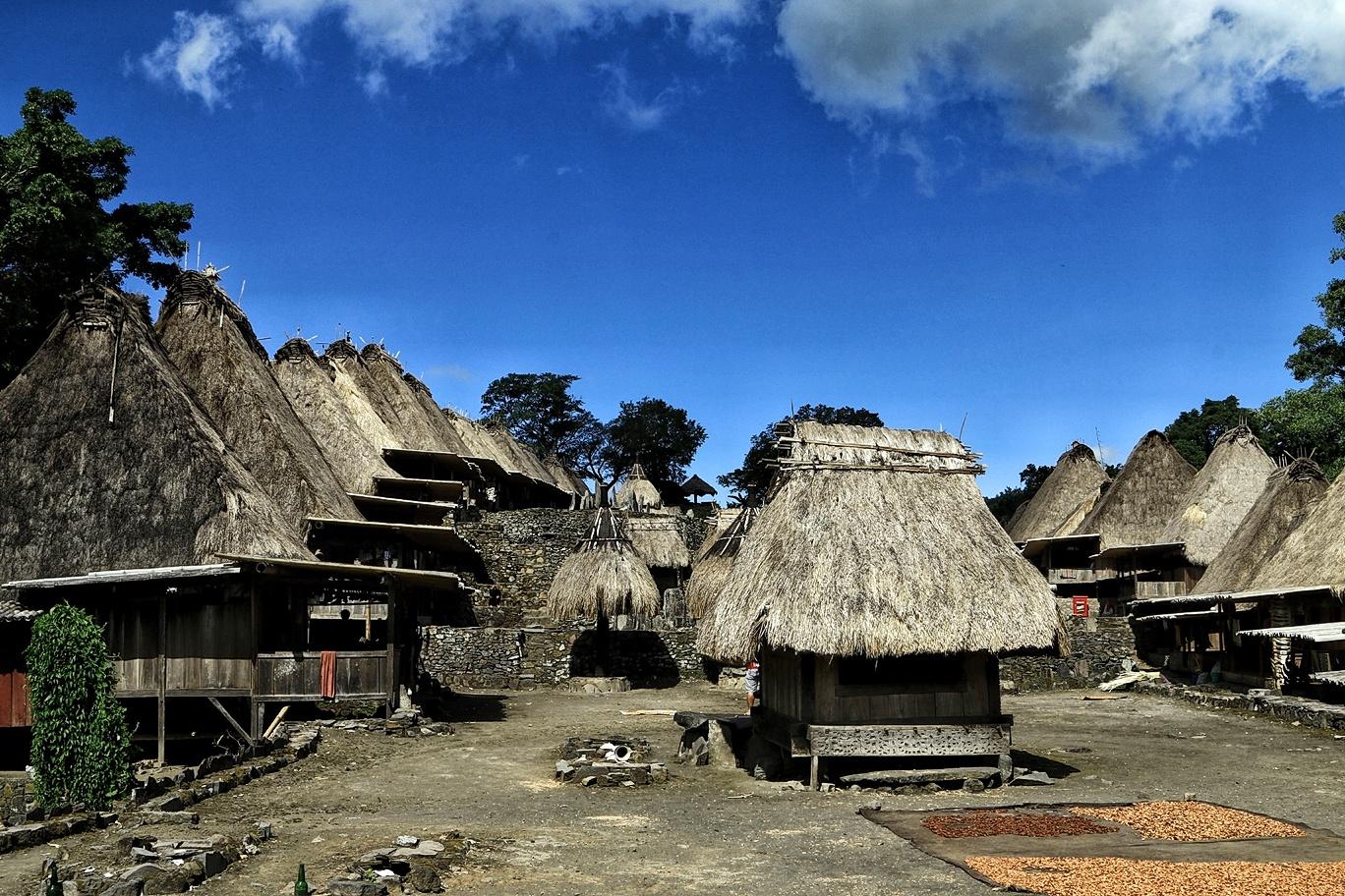 Budaya Megalitikum Kampung Adat Bena