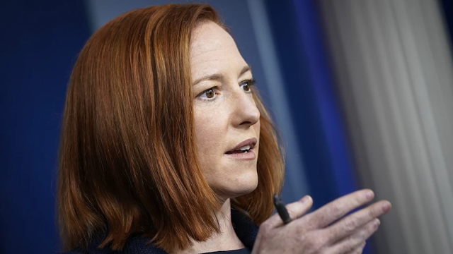Psaki: It's Okay For Biden To Travel Because He Has 'Private Plane'; We're Working On Vaccine Passports With Private Sector