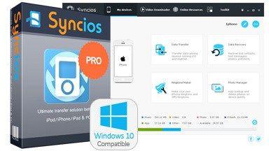 تحميل برنامج Syncios Manager Pro 6.6.7 لنقل الملفات بين جميع أنواع الهواتف والويندوز