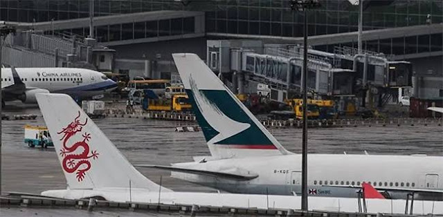 Sempat Ditutup Karena Gelombang Protes, Bandara Hong Kong Kembali Dibuka Pagi Ini
