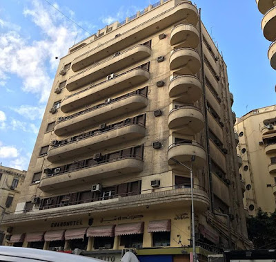 Grand Hotel in Downtown Cairo