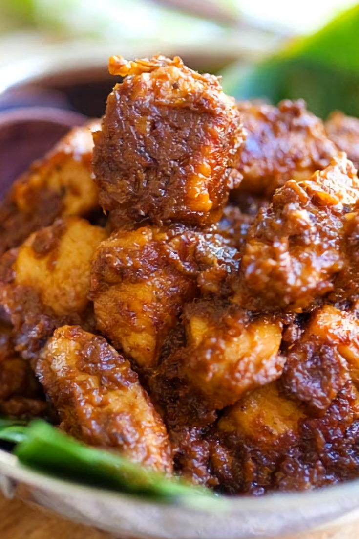 Tender Chicken Rendang
