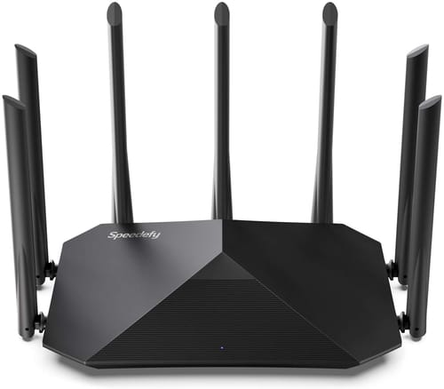 Review Speedefy Model K7 AC2100 Smart WiFi Router