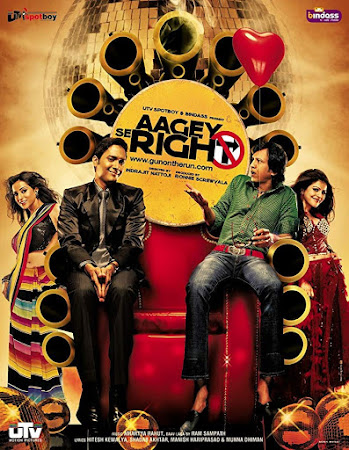 Poster Of Hindi Movie Aagey Se Right 2009 Full HD Movie Free Download 720P Watch Online