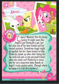 My Little Pony Angel Series 1 Trading Card