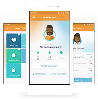 Baobab Circle - an AI-powered platform to deliver personalised management of diabetes and hypertension across Africa.