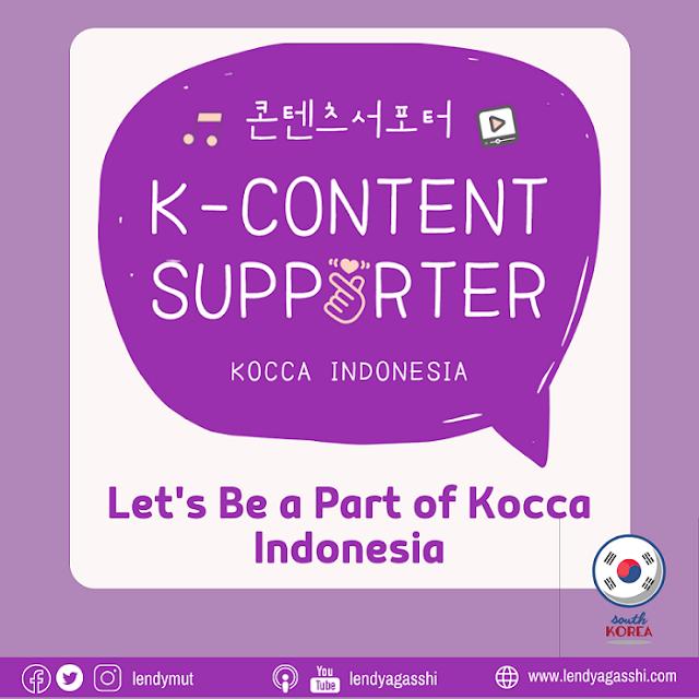 Kocca Indonesia : K Content Supporter