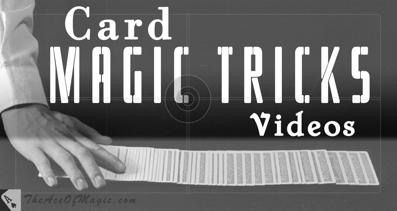 Card Magic Tricks Videos