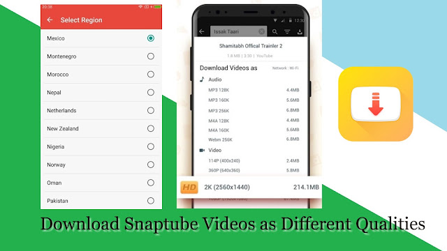 Download Snaptube Apk Youtube Video Downloader Free