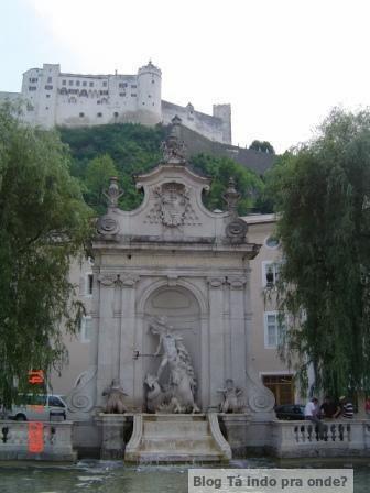 Kapitelplazt em Salzburg