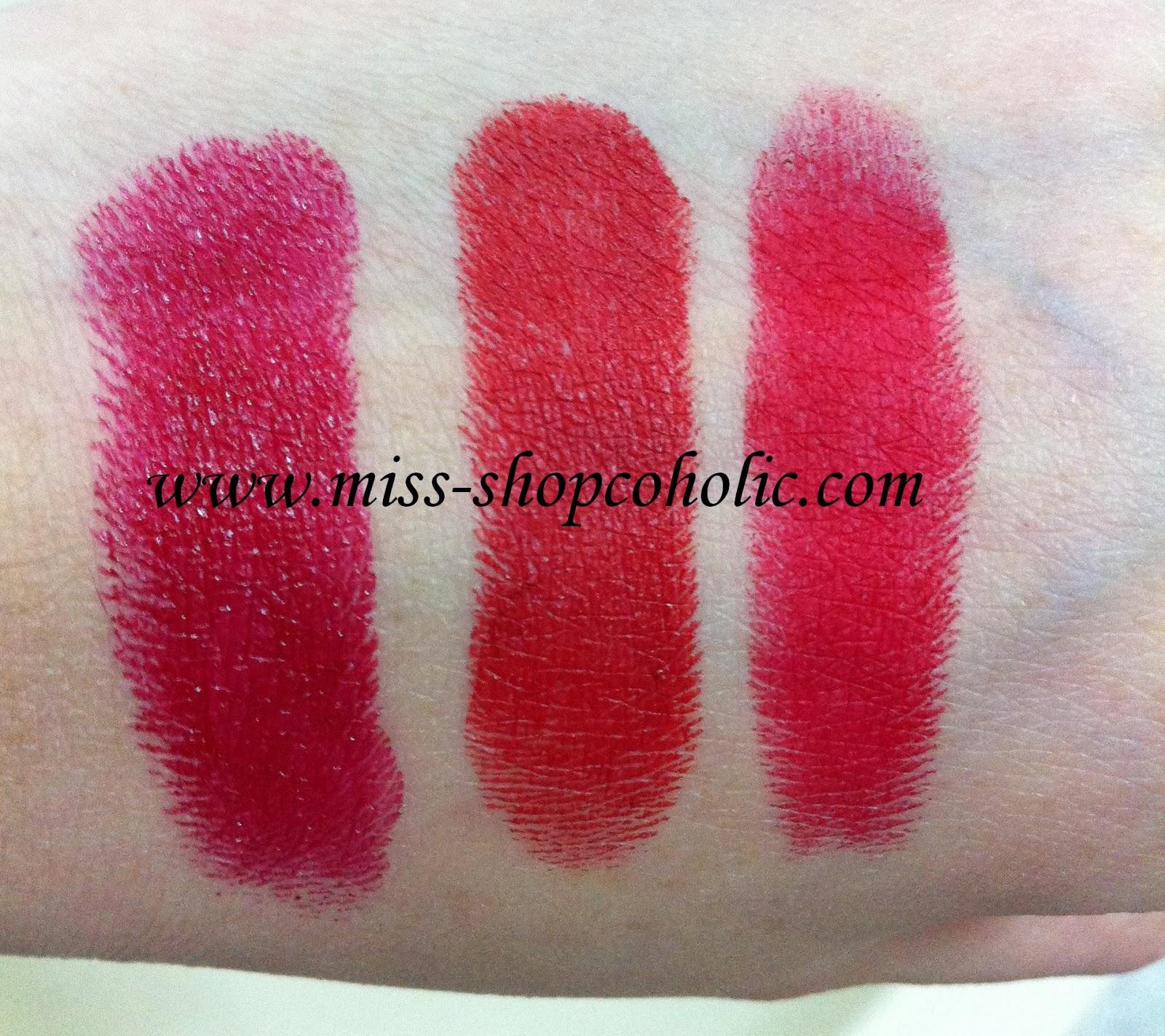 Bobbi Brown Red Carpet Lipstick Swatch | The Art Of Beauty