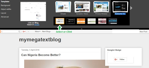 Awesome Inc Blogger template