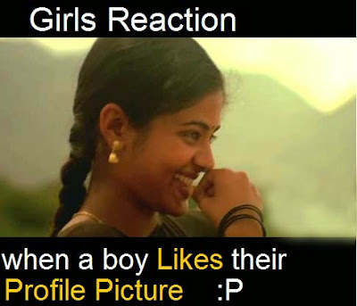 Girls Reaction Very Funny