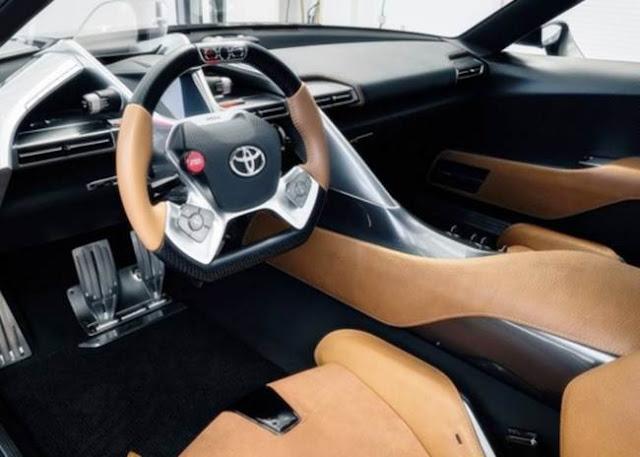 2017 Toyota FT1 Specs
