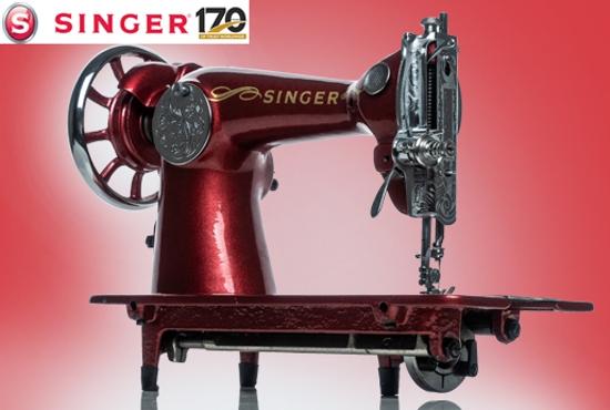 Singer 170th Anniversary 1851-2021
