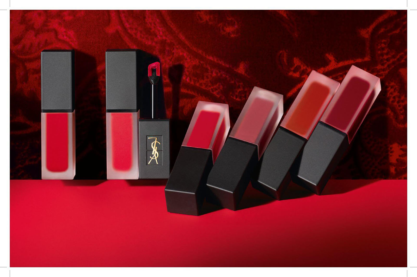 YSL Tatouage Couture Velvet Cream rouge mat