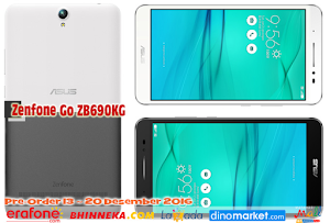 ASUS Gelar Pre-Order ZenFone Go ZB690KG