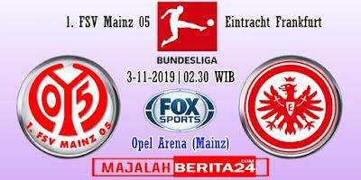 Prediksi Mainz 05 vs Eintracht Frankfurt — 3 Desember 2019