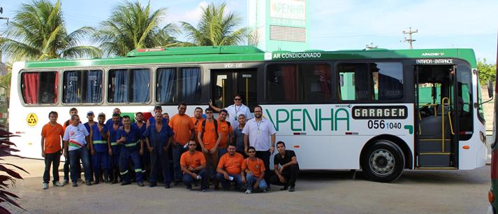 Viação Penha mostra sua casa e aquisições ao MOB Ceará