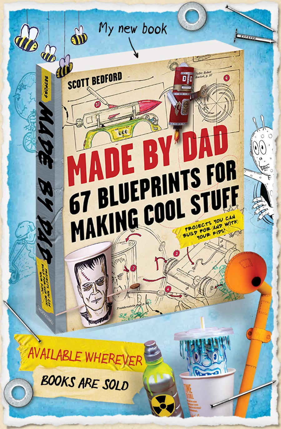 Made By Dad 67 Blueprints For Making Cool Stuff Projects You