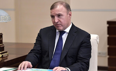 Acting Head of the Republic of Adygeya Murat Kumpilov.