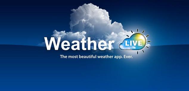 تحميل تطبيق الطقس Weather Live Apk مجانا للأندرويد