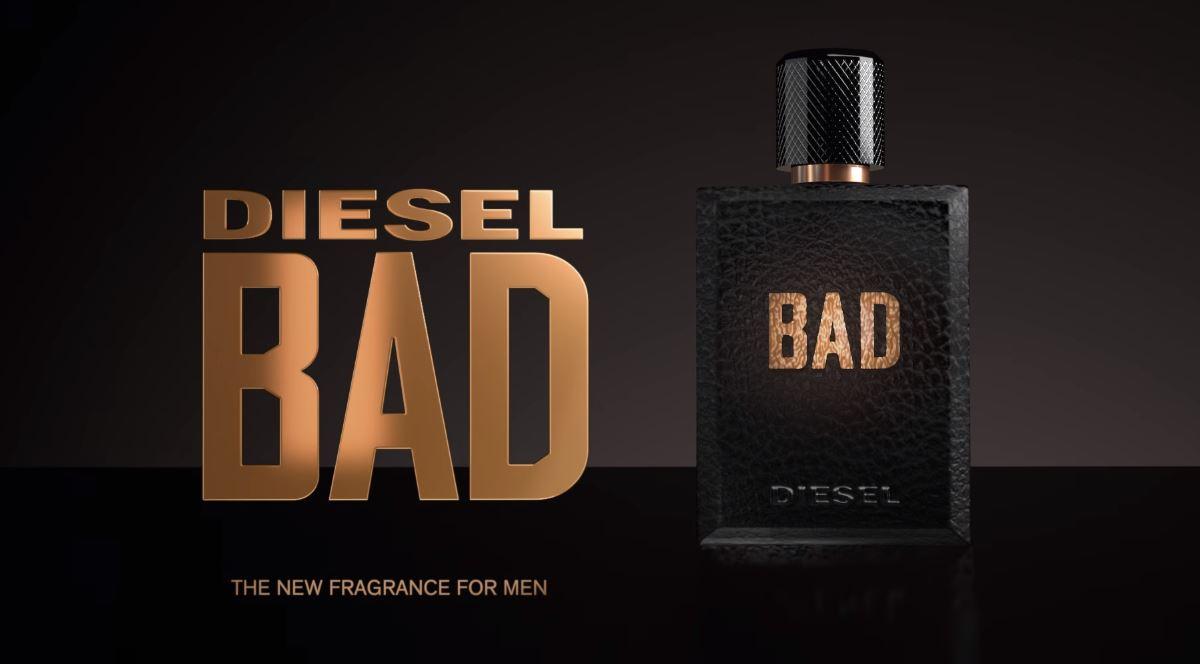 Canzone Diesel Bad profumo uomo Pubblicità