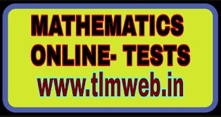 10th class Mathematics online tests