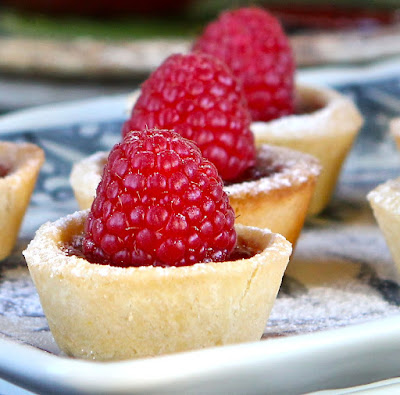 Jam Tart recipe with pate sucree great for using up three egg yolks